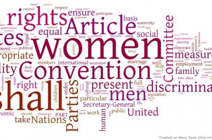 Теневой доклад в Комитет по ликвидации всех форм дискриминации в отношении женщин
