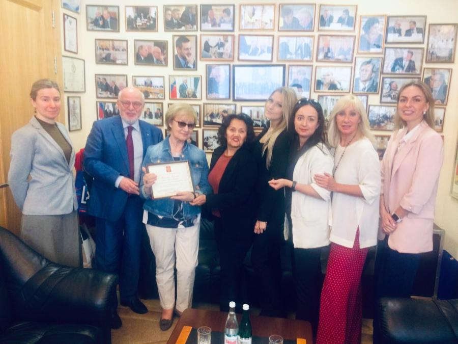 Член СПЧ Светлана Айвазова награждена почетной грамотой за бесценный личный вклад в защиту прав человека